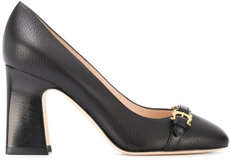 Pollini Buckle Detail High-Heel Pumps