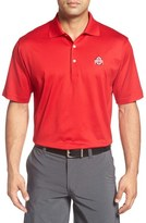 Peter Millar 'Ohio State University' Solid Golf Polo