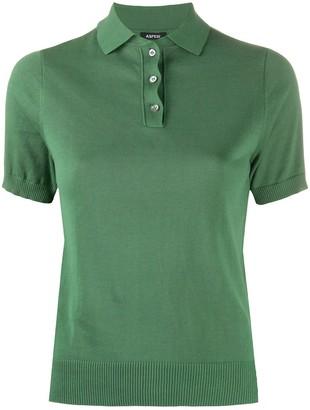 Aspesi Knitted Polo Shirt