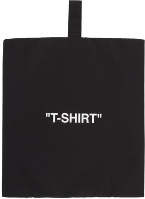 Off-White Black and White T-Shirt Pouch