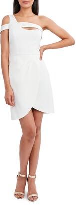 One-Shoulder Mini-Dress