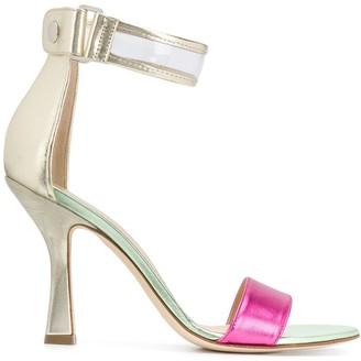Benedetta Boroli Yara colour-block sandals