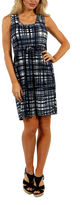 24/7 Comfort Apparel Contemporary Classic Fit & Flare Dress