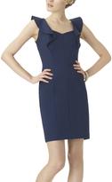 Shape Fx Midnight Ava Flutter-Sleeve Dress