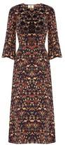 Figue Dhalia embellished silk dress