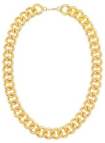14kt Gold Necklace with Nano Diamond Resin
