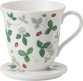 Wedgwood Wild Strawberry Lidded Mug
