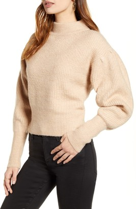 ASTR the Label Regis Mock Neck Sweater