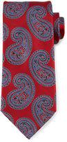 Ermenegildo Zegna Paisley-Print Silk Tie