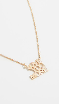 Jennifer Zeuner Jewelry Love You More Necklace