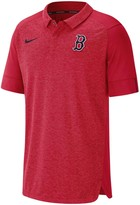 Nike Men's Red Boston Red Sox Authentic Collection Team Logo Elite Polo