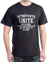 CafePress - Introverts Unite - Comfortable Cotton T-Shirt