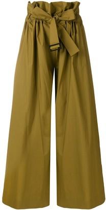 Erika Cavallini Wide Leg Belted Trousers
