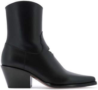 Christian Dior L.A. Star Detail Ankle Boots