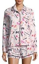 Kate Spade Brushed Twill Short Pajama Set