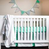 Pam Grace Creations Friendly Fox 4-Piece Crib Bedding Set