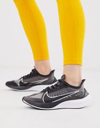 Nike Running zoom gravity sneakers in black