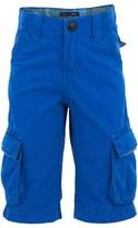Ikks Blue Cargo Shorts