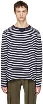 Sacai Navy Striped Dixie Border T-shirt