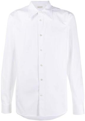 Alexander McQueen Formal Cotton Dress Shirt