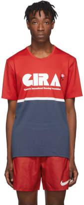 Nike Red and Blue Gyakusou NRG T-Shirt