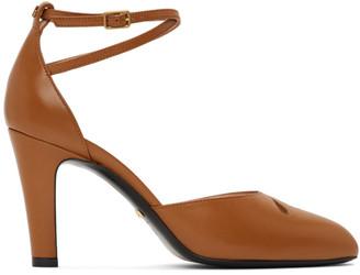 Gucci Brown Indya Heels