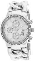 Jivago Women's JV1226 Lev Analog Display Swiss Quartz Silver Watch