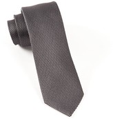 The Tie Bar Charcoal Grenafaux Tie
