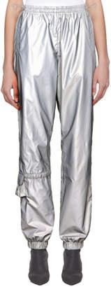 Misbhv SSENSE Exclusive Silver Reflective Utility Lounge Pants