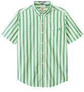 Volcom Men's Weirdoh Stripe Short Sleeve Shirt 8118473