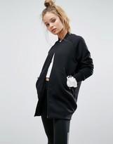 adidas Z.N.E Premium Longline Bomber Jacket