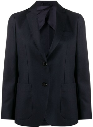 Fay fitted single-breasted blazer
