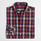 J.Crew Factory Slim washed shirt in oversized gingham