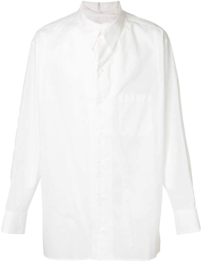 Yohji Yamamoto chest pocket shirt