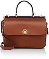 Ghurka Women's Tilbury Small Crossbody Satchel-BROWN