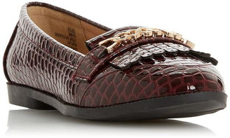 Head Over Heels Giles Chain Fringe Loafers