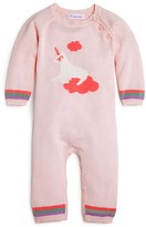 Angel Dear Infant Girls' Unicorn Coverall - Sizes 0-12 Months