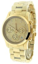 Michael Kors MK5128 Runway Rose Golden Stainless Steel Crystal Quartz Watch