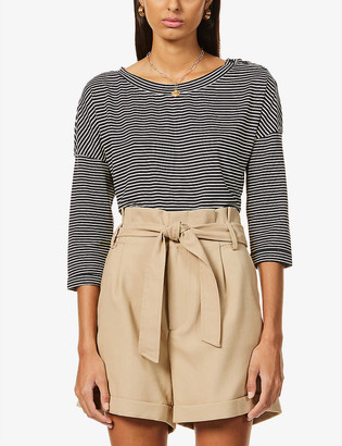 Sessun Striped stretch-jersey T-shirt