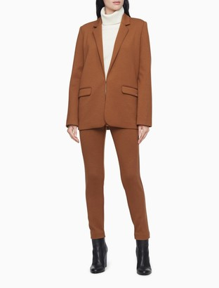 Calvin Klein Ponte Knit Zip Pocket Pull-On Pants
