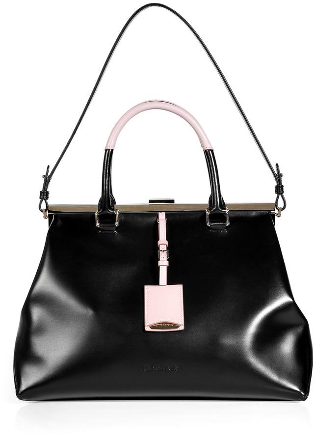 Jil Sander Black Doctor Bag