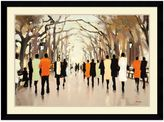 Bed Bath & Beyond Lorraine Christie Poet's Walk Framed Print Wall Art