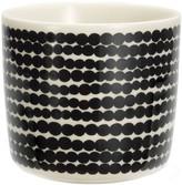 Marimekko Siirtolapuutarha Cup Without Handle - White/Black