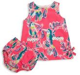 Lilly Pulitzer Baby's Printed Dress & Bloomers Set