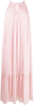 AllSaints Paisley-Print Maxi Dress