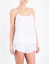 Eberjey Pax textured cotton camisole