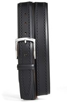 Allen Edmonds Men's Manistee Brogue Leather Belt
