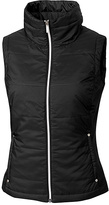 Cutter & Buck Black Claudia WeatherTec Quilted Vest