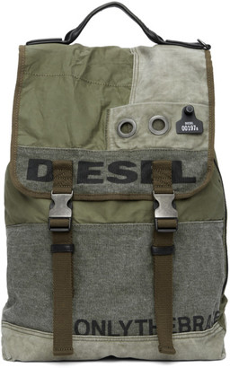 Diesel Green Volpago Army Backpack