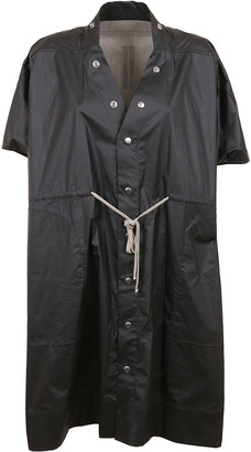 Rick Owens Short-sleeved Raicoat